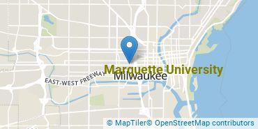 Location of Marquette University