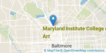 Location of Maryland Institute College of Art