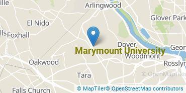 Location of Marymount University