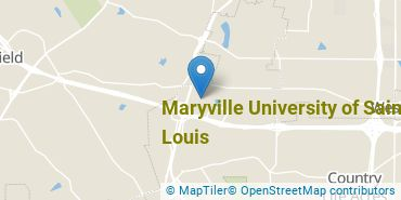 Location of Maryville University of Saint Louis