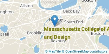 Location of Massachusetts College of Art and Design