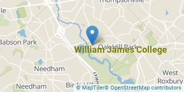 Location of William James College