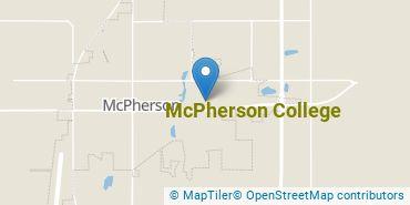 Location of McPherson College