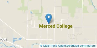 Location of Merced College