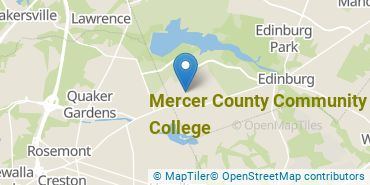 Location of Mercer County Community College