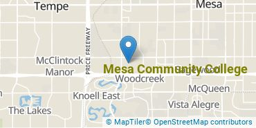Location of Mesa Community College
