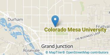 Location of Colorado Mesa University