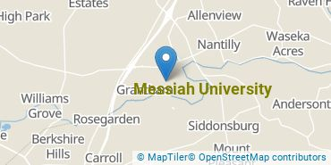 Location of Messiah University