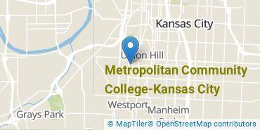 Location of Metropolitan Community College - Kansas City