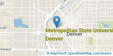 Location of Metropolitan State University of Denver
