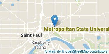 Location of Metropolitan State University