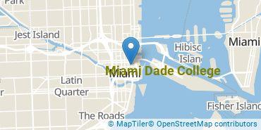Location of Miami Dade College