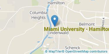 Location of Miami University - Hamilton