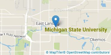 Location of Michigan State University