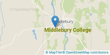 Location of Middlebury College