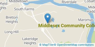 Location of Middlesex Community College