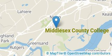Location of Middlesex County College