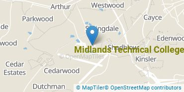 Location of Midlands Technical College
