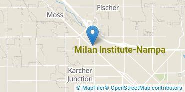 Location of Milan Institute-Nampa