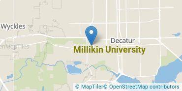 Location of Millikin University