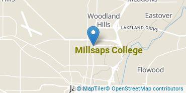 Location of Millsaps College