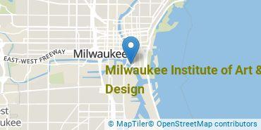 Location of Milwaukee Institute of Art & Design