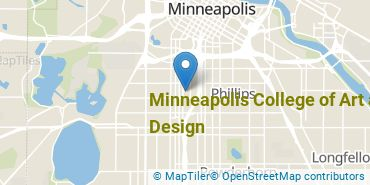 Location of Minneapolis College of Art and Design