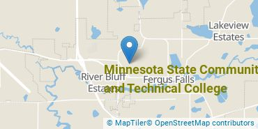 Location of Minnesota State Community and Technical College