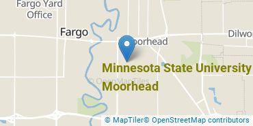 Location of Minnesota State University - Moorhead