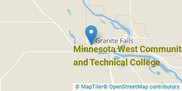 Location of Minnesota West Community and Technical College