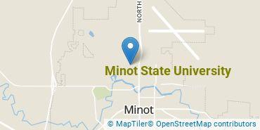 Location of Minot State University