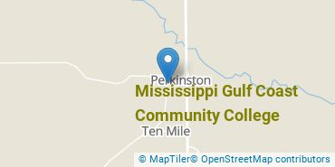 Location of Mississippi Gulf Coast Community College