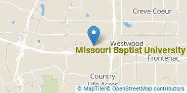 Location of Missouri Baptist University