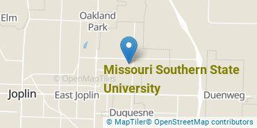 Location of Missouri Southern State University