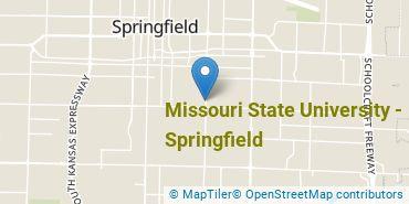 Location of Missouri State University - Springfield