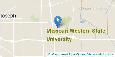 Location of Missouri Western State University