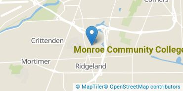 Location of Monroe Community College