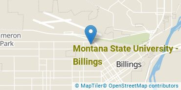 Location of Montana State University - Billings