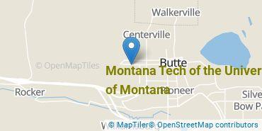 Location of Montana Tech of the University of Montana