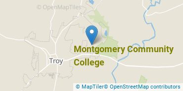 Location of Montgomery Community College