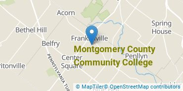 Location of Montgomery County Community College