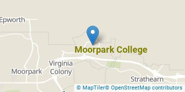 Location of Moorpark College