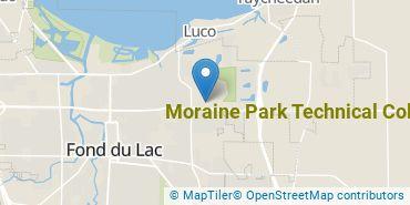 Location of Moraine Park Technical College