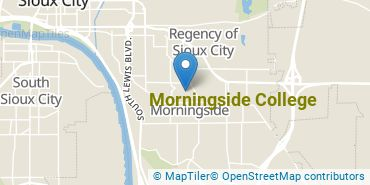 Location of Morningside College