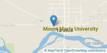 Location of Mount Marty University