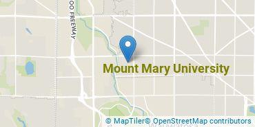 Location of Mount Mary University