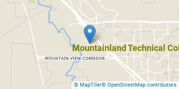 Location of Mountainland Technical College