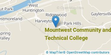 Location of Mountwest Community and Technical College