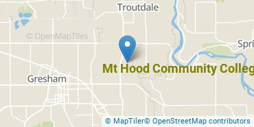 Location of Mt. Hood Community College