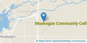 Location of Muskegon Community College